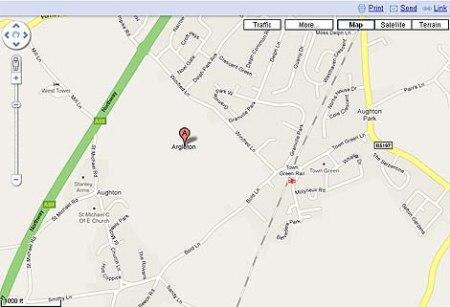 google-maps-Argleton